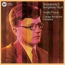 作曲家名: A行 - ショスタコーヴィチ: 交響曲第4番[CD] / アンドレ・プレヴィン (指揮)