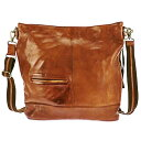 ショルダーバッグ メンズ ショルダー バッグ リュック ディバッグ リュックサック 2WAY キャメル レザー 牛革 本革 メンズ・紳士・男性 用 カバン・鞄・かばん・バッグ