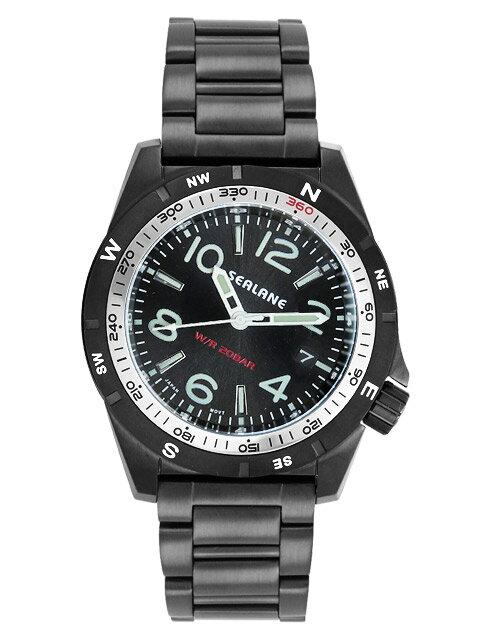 シーレーン 腕時計 SEALANE SE40-MBK 送料無料 新品をお取り寄せ シーレーン SEALANE 腕時計