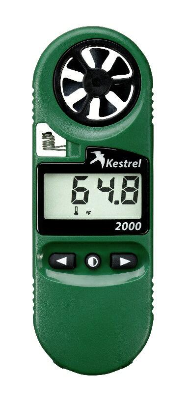 ポケット気象メーター/気象計、風速計、温度計、計測器ケストレル2000(Kestrel2000).【楽ギフ_包装】