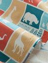 生地 布 楽しい動物園/楽しい動物園シリーズ