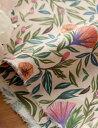 【リネン】Rainfall vintage flower レインフォールヴィンテージフラワーリネン