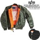 Alpha MA-1 BLOOD CHIT MJM21300C1 アルファ ミリタリー ブラッドチット フライトジャケット 軍 ボマージャケット