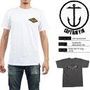 Captain Fin Authentic Standard Tee キャプテンフィン Tシャツ ロゴ サーフT サーフィン [DM便送料無料!!]