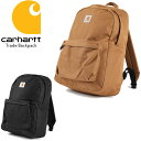 CARHARTT Trade Backpack ワーク バックパック カーハート バッグ リュック 通勤 通学 カバン 鞄 【16ss】