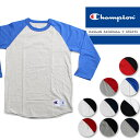 【再入荷】Champion RAGLAN BB TEE BASEBALL T SHIRTS チャンピオン ラグラン ベースボール Tシャツ[DM便送料無料!!]...