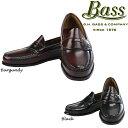 G.H Bass LOGAN コインローファー Brush off leather ジーエイチバス GHバス ペニー ローファー ビジネスシューズ 革靴 ds-Y