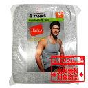 Hanes タンクトップ4枚組み Classics Dyed A-Shirt 4Pack ヘインズ 7990AS