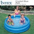 [限定特典][あす楽]INTEXクリスタルブループール ME-7011 58426NP CRYSTAL BLUE POOL インテックス シンプル 家庭用 ds-Y