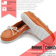 MINNETONKA CLOUD BOAT MOC WITH WHITE SOLE & LACE 517S NECTARINE ミネトンカ クラウドボートモック ホワイトソール モカシン ds-Y