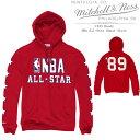 MITCHELL & NESS 1989 Hoody NBA All-Star Sweat Shirt ミッチェル&ネス オールスター スウェット トレーナー ...