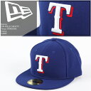 NEWERA 2016 ON-FIELD 59FIFTY Texas RANGERS GAME �j��