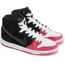 NIKE SB xUPRISE Dunk High Premium Black Black University White 313171-061 ナイキ ダンクハイ