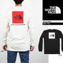 THE NORTH FACE M L/S RED BOX TEE ノースフェイス レッドボックスT Tシャツ 長袖Tシャツ ロンT ボックスロゴ