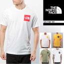 ノースフェイス S/S FINE TEE ボックスロゴT 半袖Tシャツ Tシャツ THE NORTH FACE 街着 キャンプ ネコポス送料割引