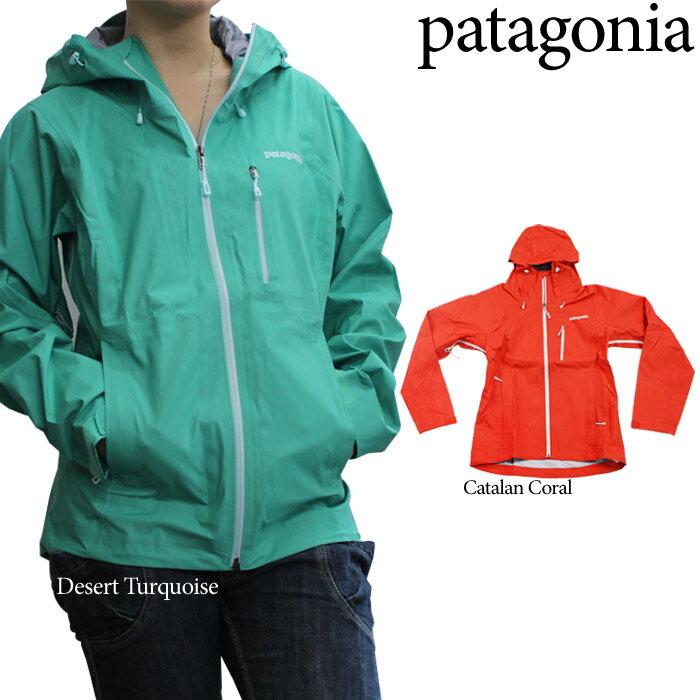 パタゴニア リーシュレスジャケット マウンテンパーカー レディース