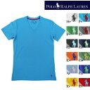 [あす楽]POLO RALPH LAUREN PL84 無地TVネック Tシャツ V-NECK ポロ ラルフローレン ラルフ ds-Y