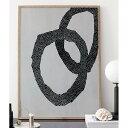 RoomClip商品情報 - Coco Lapine Design Abstrakt No.1 アートプリントポスター 50x70cm ベルギー/ドイツ