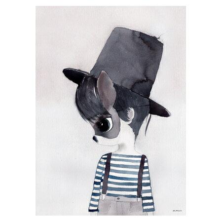【ハロウィーン割引クーポン対象商品】【限定版】Mrs Mighetto MR JACK 50x70cm アートポスター 北欧 スウェーデン