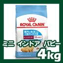 ロイヤルカナン ミニ インドア パピー 4kg ROYAL CANIN 【犬用/ドッグフード/ドライフード/超小型犬/小型犬/子犬/室内犬】 【送料無料】