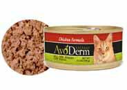 這只貓罐頭雞 156 g x 12 罐設置 AVO 真皮