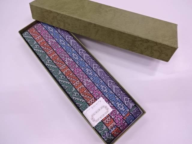 q新品 龍村美術織物製 チャンカイの巳男物角帯