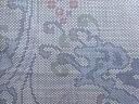 荒波模様織り出し本場泥大島紬着物(5マルキ)【アンティーク】【中古】材料用 リメイク 手芸