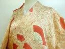 Kimono - 小紋 扇尽くし文様 着物【リサイクル】【中古】