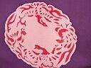 樂天商城 - 鳳凰模様刺繍塩瀬名古屋帯【アンティーク】【中古】