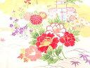 樂天商城 - 雲に松竹梅・草花模様風呂敷【アンティーク】【中古】