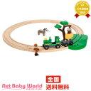 サファリサークルセット ブリオ BRIO木製 おもちゃ 汽車 レールセット point3_netbaby