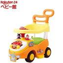 アンパンマン よくばりビジーカー 押し棒ガード付(1セット)【アガツマ】 三輪車 のりもの 乗用玩具 足けリ