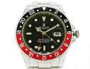 ◇【中古】 【ROLEX ロレックス】 GMTマスター2 黒×赤ベゼル 16710 自動巻腕時計_05P07Feb16