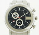 ◇【中古】 美品 【GUCCI グッチ】 クロノグラフ メンズ腕時計 YA101309 クォーツ腕時計_05P03Dec16