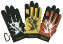 作業用手袋 作業手袋 スパークス手袋 #2969 (1P) カラビナフック標準装備 水洗いOK 人工皮革