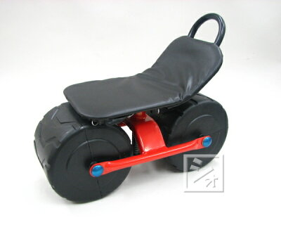 移動用作業椅子スチールハウスカー2輪TC-4500A農作業椅子