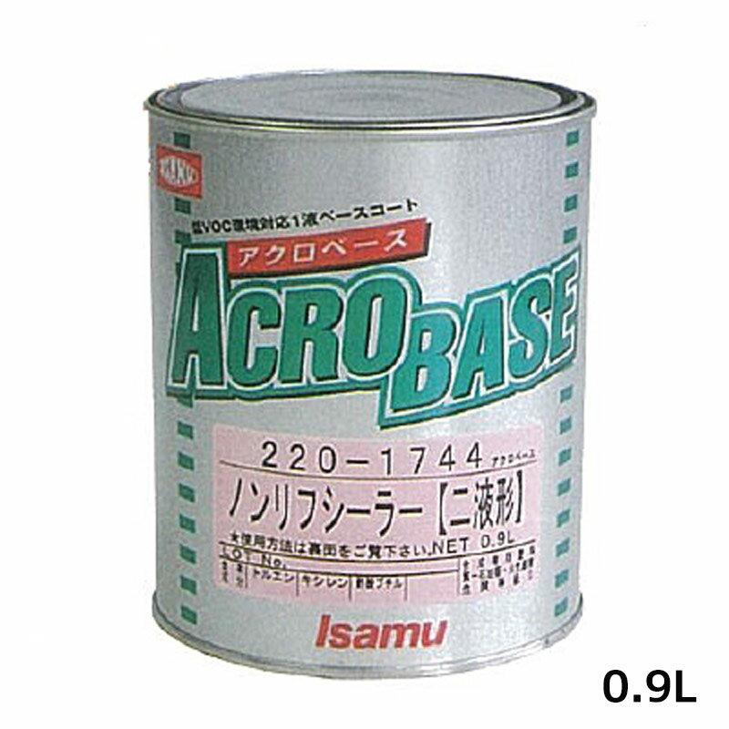 リアクター ミラノ2K 0.9L メタリープラチナカラー Mシリーズ [取寄] イサム塗料