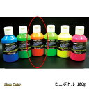 SHOWUP ネオンカラー NE-OMN オレンジネオン ミニボトル 主剤180g 硬化剤35g