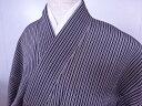 Kimono - リサイクル 小紋 縞文様 Sサイズ 着物【送料無料】
