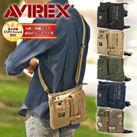 AVIREX(avx342)2way單肩包/腰包  【AVIREX (avx342) 2way ショルダーバッグ / ウエストバッグ】