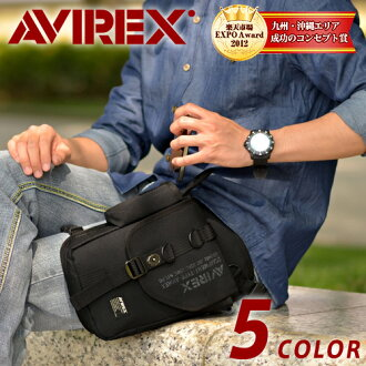 Avirex (avirex) AVIREX! Shoulder bag diagonally over bag leg bag avx348 mens men's popular brands