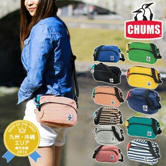 CHUMS! At shoulder bag shoulder porch [sweat shirt] [Shoulder Pouch Sweat] bags CH60-0627(CH60-0302) men gap Dis bias a bag