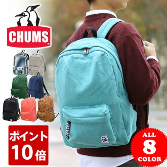 CHUMS canvas bag hurricane rucksack for one-day trips [absorbent material] [Hurricane Day Pack Sweat] CH60-0622 for men and women Ayase Haruka trendy/ lovely/ birthday gift/ canvas /commuting/ school students [free delivery] [10 times points] [dre-c1]
