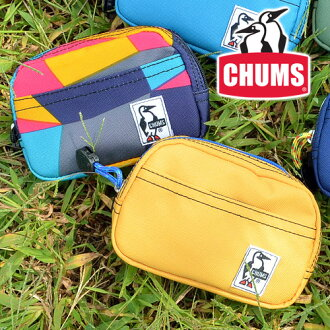 チャムス CHUMS! 디지탈 카메라 케이스 멀티 케이스 파우치 [Eco Dual Case] CH60-0859 (CH60-0278) 남성용 선물 레이디스 멋쟁이 무스 탕 「 能 」