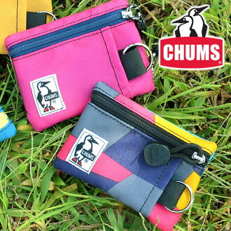 """Chums Coin bag Key bag Transportation card [Ecologically manufactured in Cordura] [Eco Key Coin Case] ??CH60-0856 Men Women Birthday gift Change bag  Monthly ticket clip Popular brand  Purse [RCP], ''Postal parcel"""" [ f3-b2] [f3-c] [chu10cou]"""