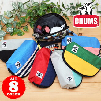 Chums CHUMS! Cute shell pouch CH60-0692 (CH60-0560) men's women's wristlet pouch
