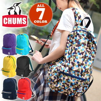 CHUMS Chums! Travel-bag Small-bag 【Cordura Eco Made】 [Eco Hurricane Day Pack] CH60-0845 Men Gift Women Unisex School High school students Birthday gift Cute 【RCP】P27Mar15 【Free Delivery】 【chu10cou】 【dre-c1】