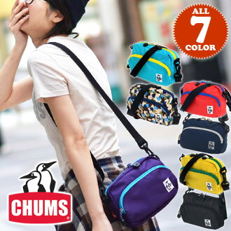 CHUMS! At shoulder porch shoulder bag [nylon] [Soulder Pouch CD] CH60-0281 men gap Dis bias a bag
