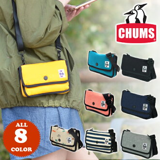 "CHUMS! Mini cosmetic shoulder bag [anti-sweating fabric] CH60-0727 Men and ladies Gift Shoulder bag Birthday gift [Rakuten 10x points] ""Postal parcel available"" [F2-I3] [F3-B2] [chu10cou]"