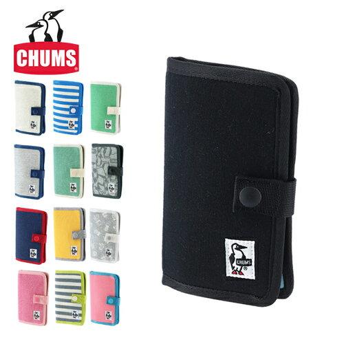 チャムス CHUMS!スマホケース 携帯ケース 【スウェット】 [Notebook Style Mobile Case Sweat] 「ゆうパケット可能」 CH60-2361 メンズ レディース [通販]【ポイント10倍】 ラッピング【あす楽】